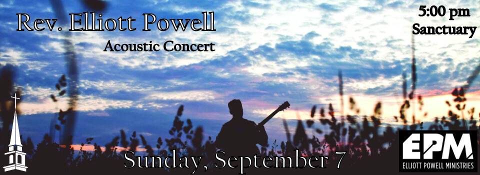 Rev. Elliott Powell Acoustic Concert