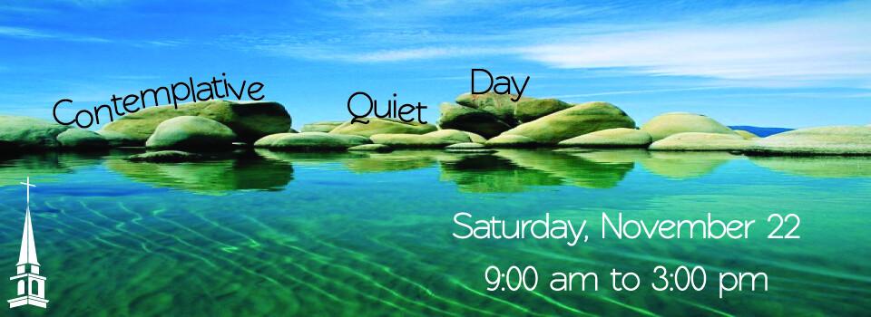 Contemplative Quiet Day