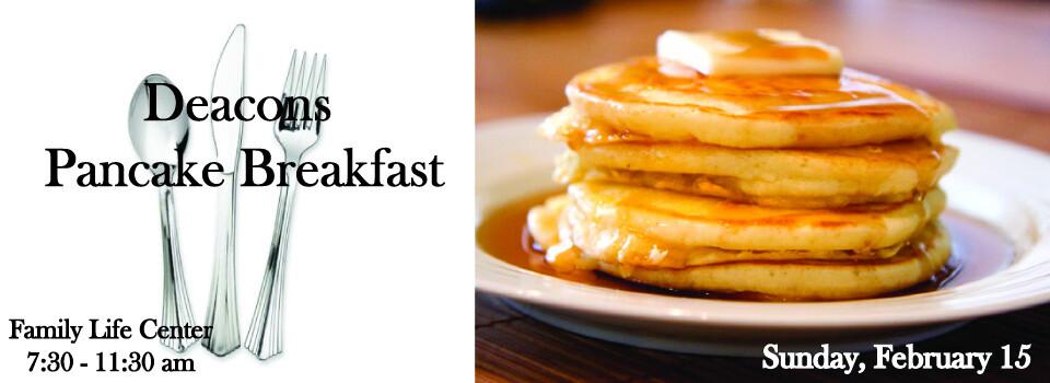 Deacons Pancake Breakfast
