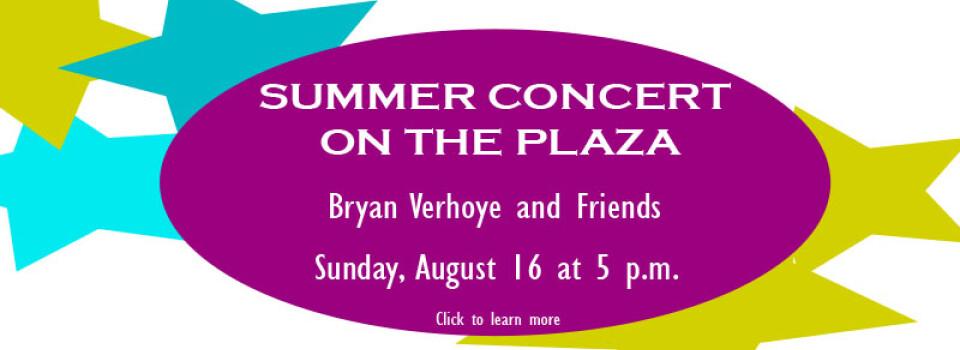 Bryan Verhoye and Friends Concert