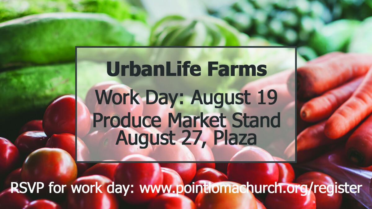 UrbanLife Farms Work Day