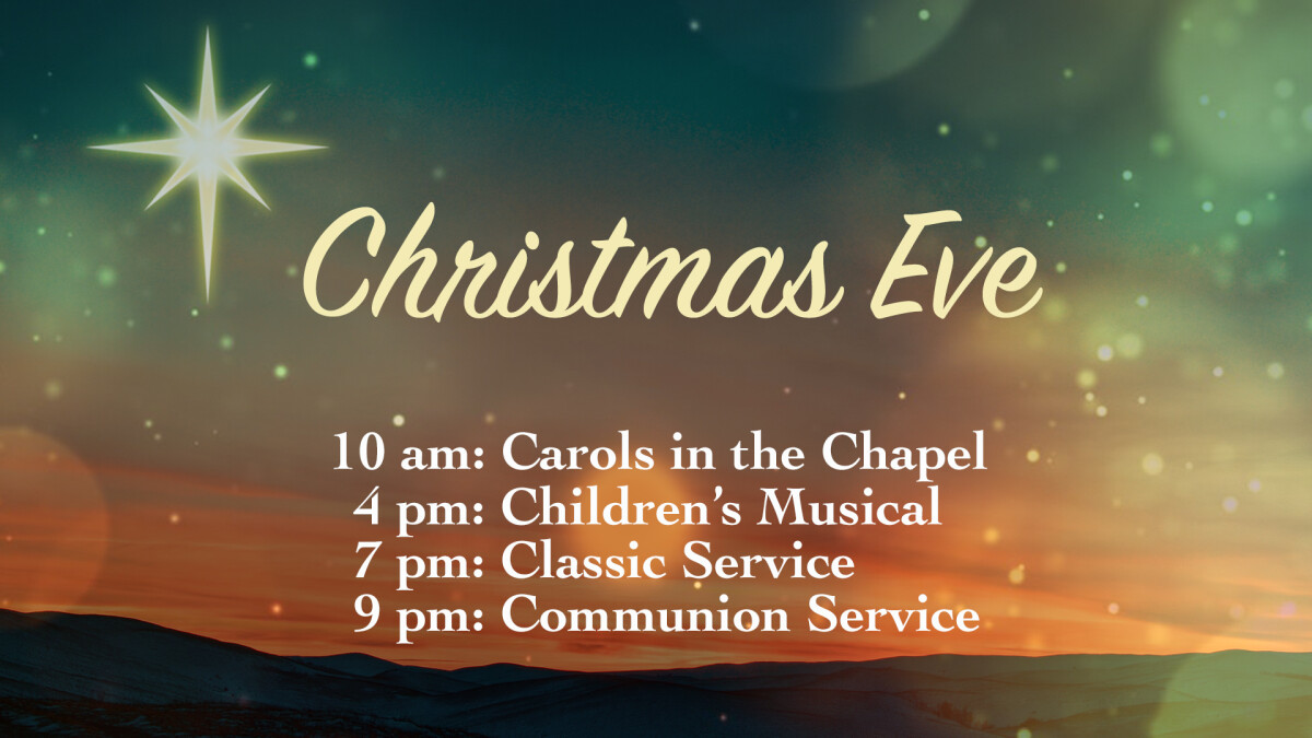 Christmas Eve - Traditional Service