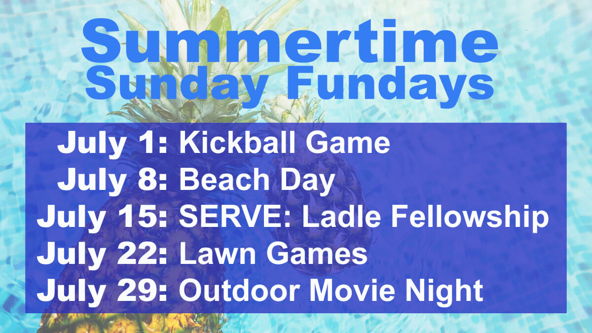 Sunday Funday (Park Picnic/Kickball)