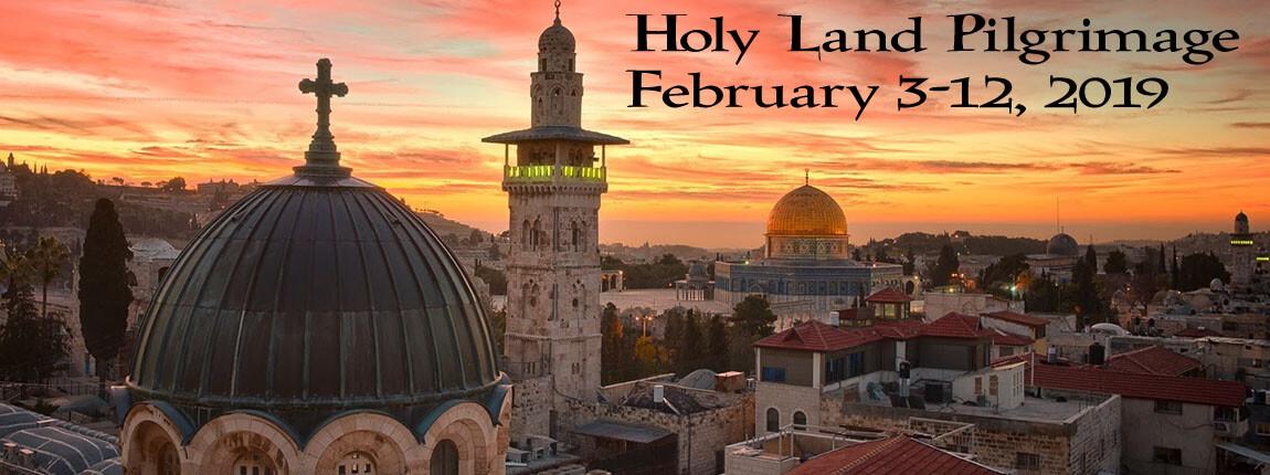 Holy Land Pilgrimage Informational Meeting