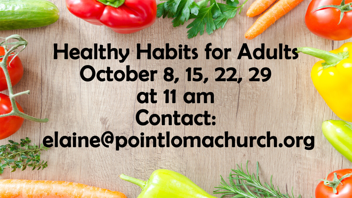 Healthy Habits for Adults