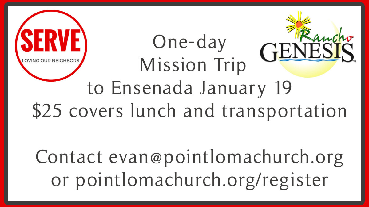 Rancho Genesis Day Mission Trip
