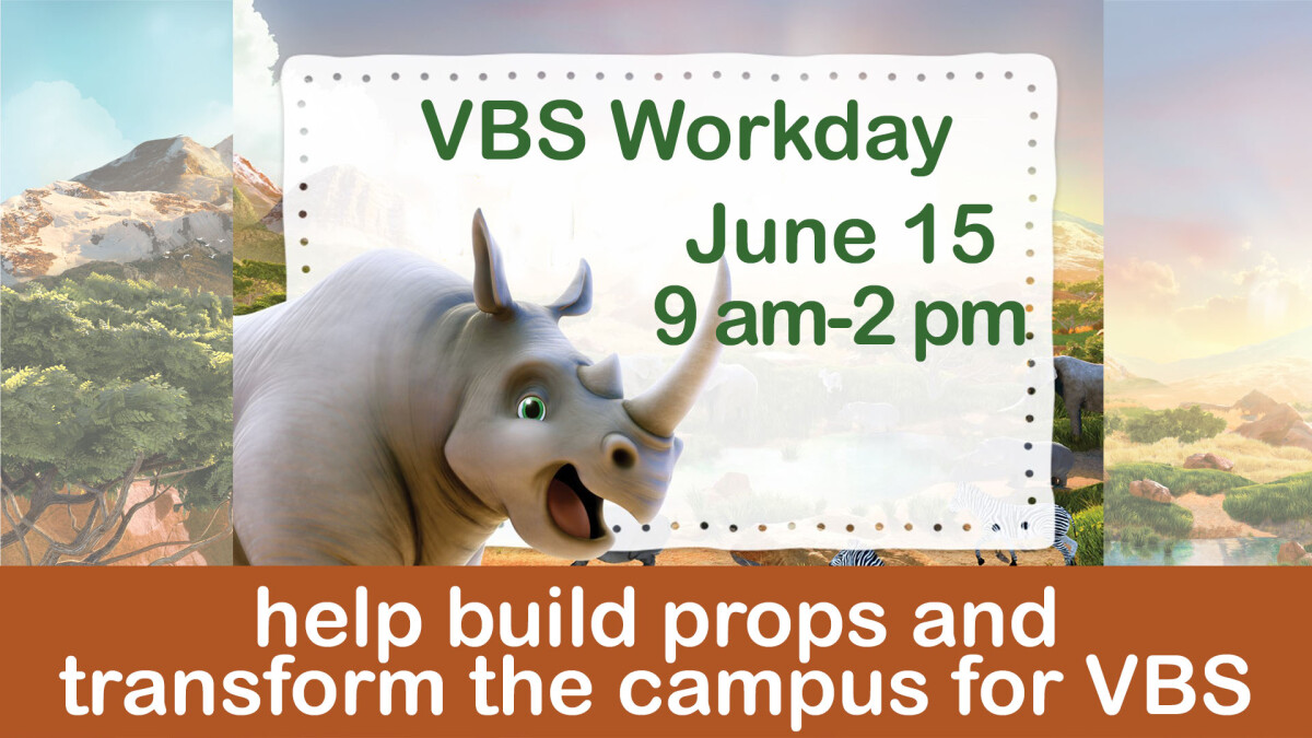VBS Work Day
