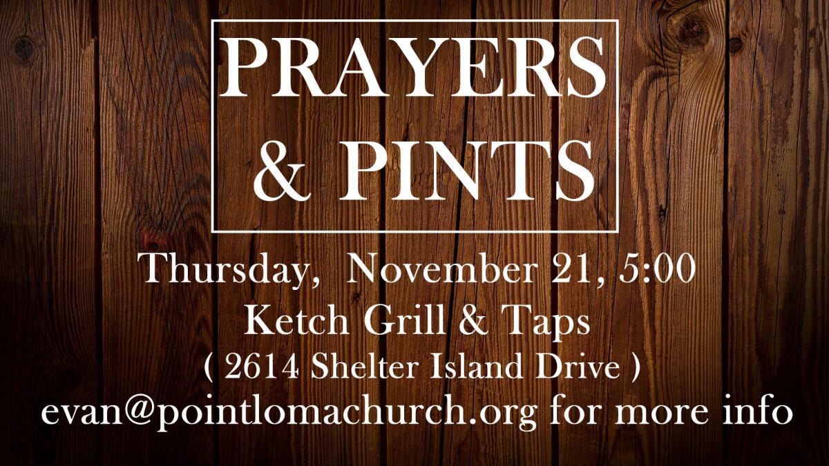 Prayers & Pints