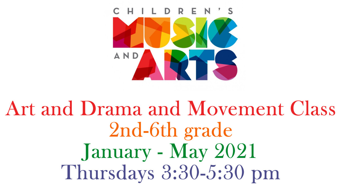 Art and Drama and Movement Class